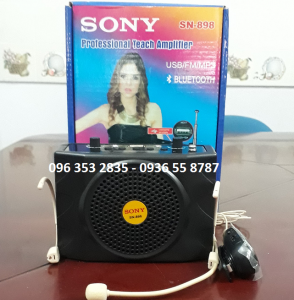 Máy Trợ Giảng SONY SN-898 Made in Japan